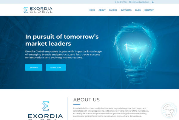 Exordia Global Website