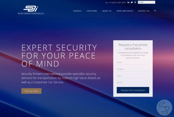 Security Drivers International Website