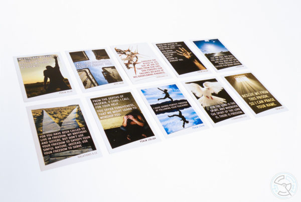 Prison Chaplaincy Bible Verse Cards