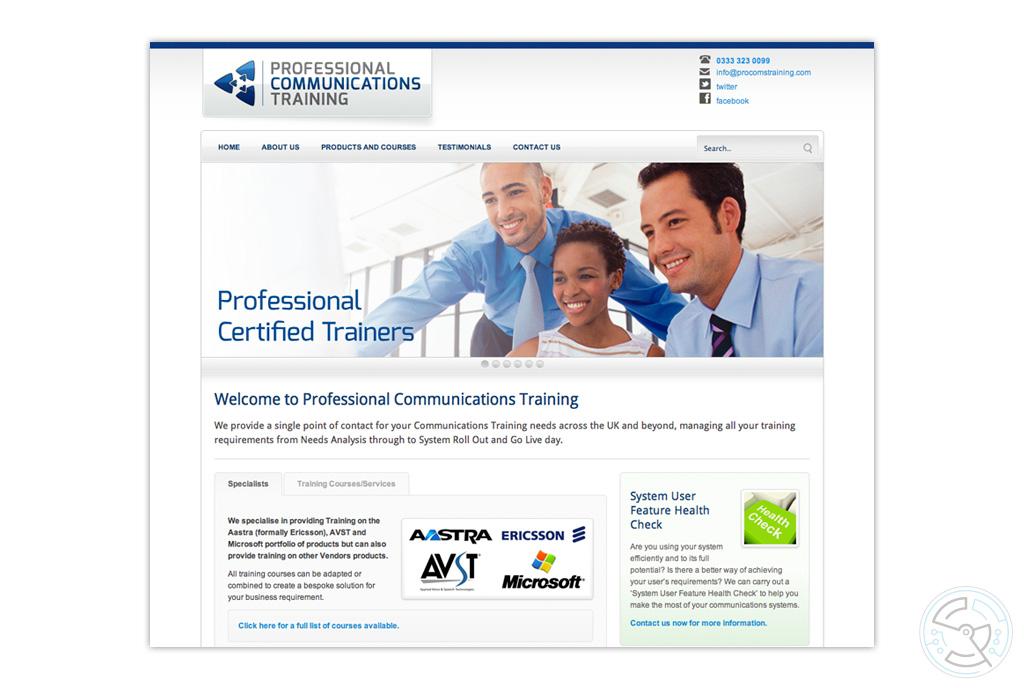 Professional Communications Training Website – SIMON