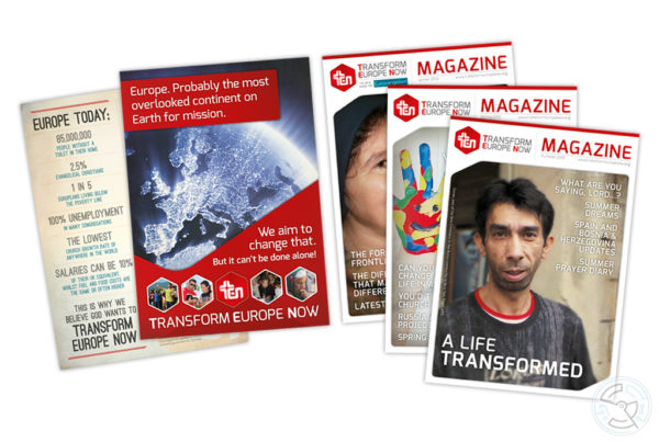Transform Europe Now – Publicity and Magazines