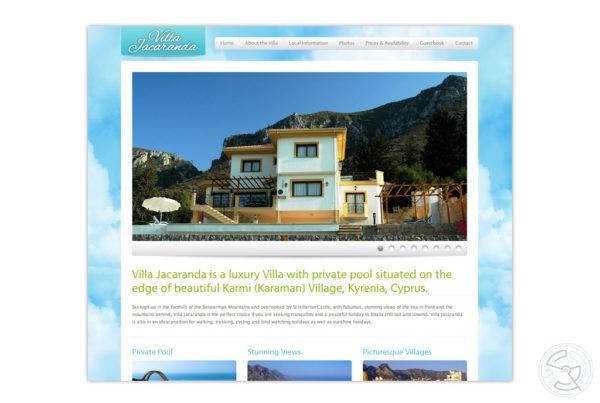 Villa Jacaranda website