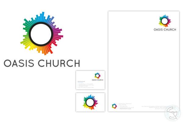 Oasis Church Branding