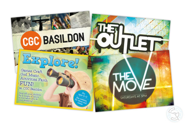 CGC Basildon publicity flyers