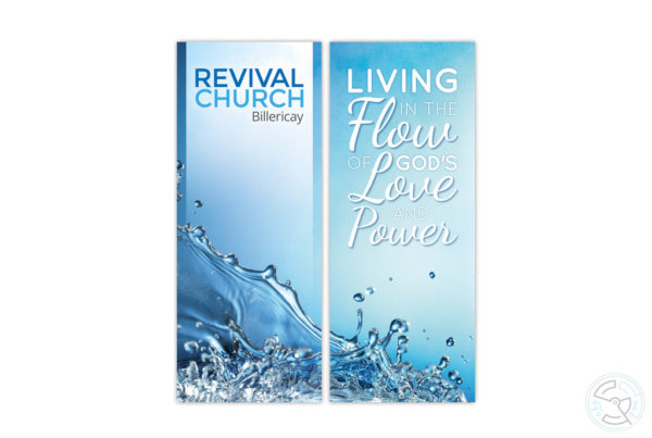 Revival Church Billericay- roller banner design
