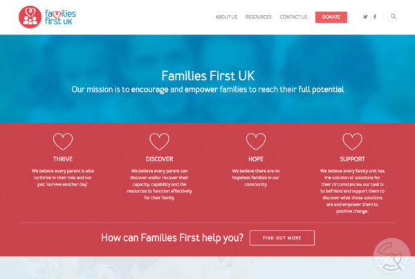 Families First website