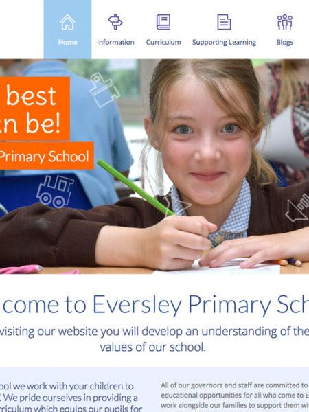 Eversley Primary School website