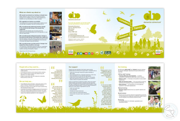 Dementia Adventure Brochure