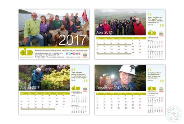 Dementia Adventure Calendar