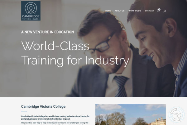 Cambridge Victoria College – Website