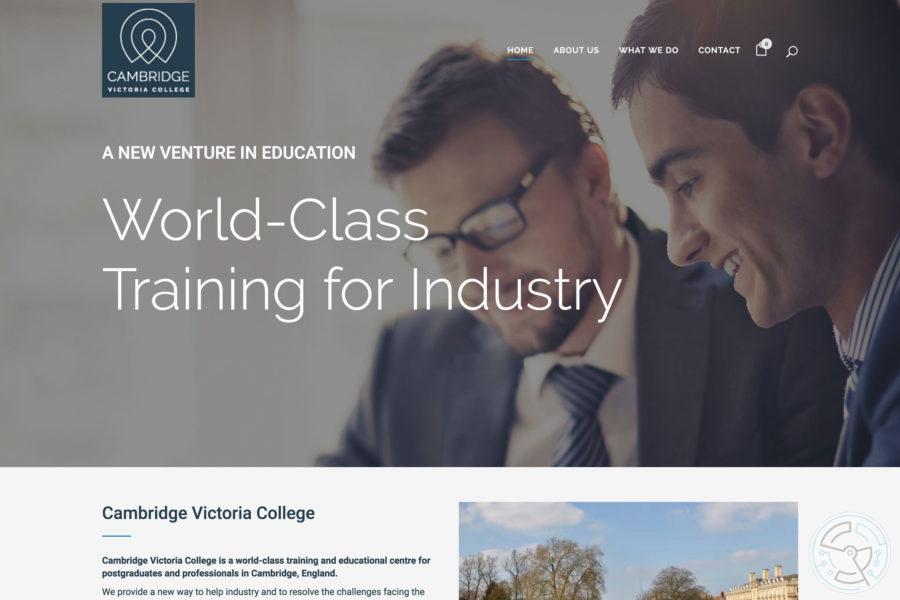 Cambridge Victoria College – Website