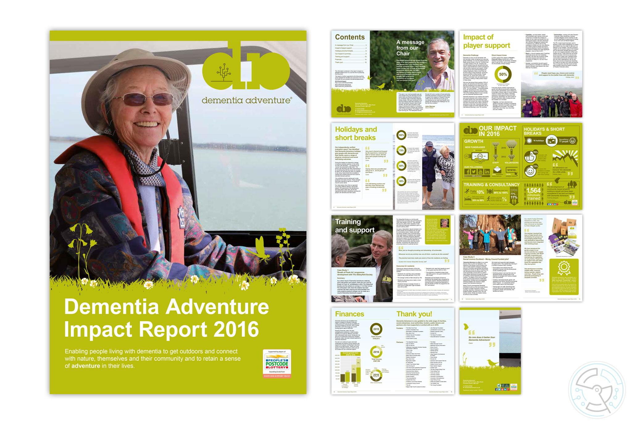 Dementia Adventure Impact Report 2016