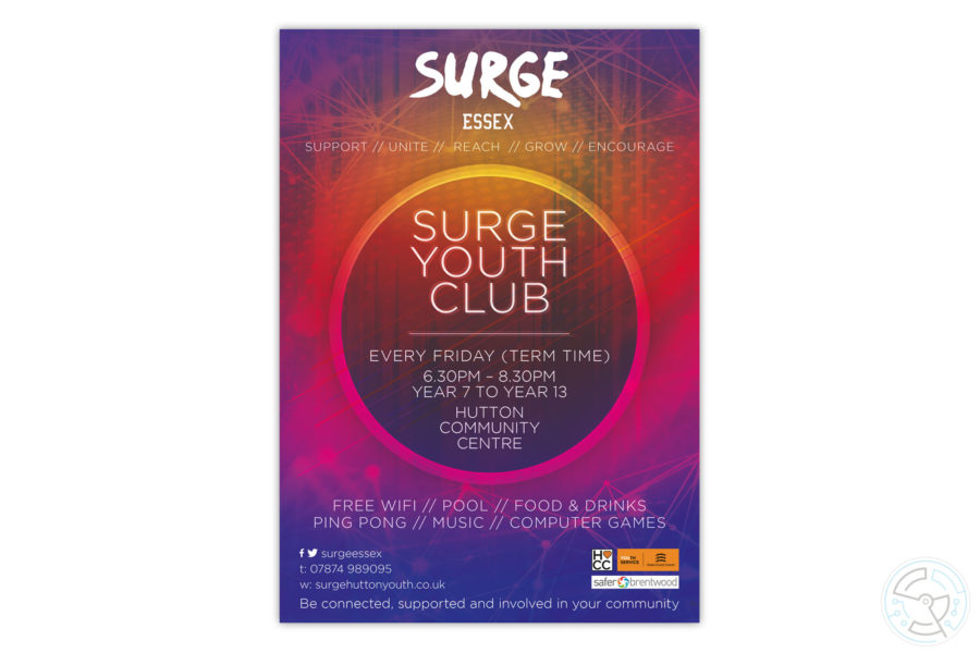 Surge Youth Club - poster