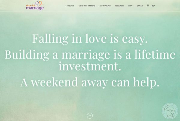 Time for Marriage – Website